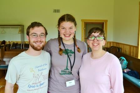 Juniata Representain: Jonathan, Claire, and Laura
