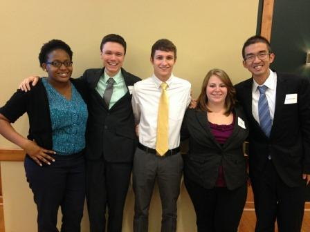 Juniata College Business Students Compete at McDaniel College