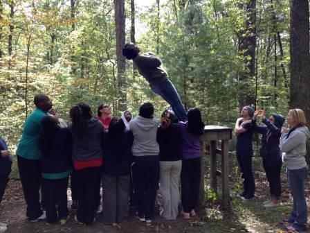 Peer mentor trust building!
