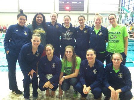 Juniata College Women's Swim Team