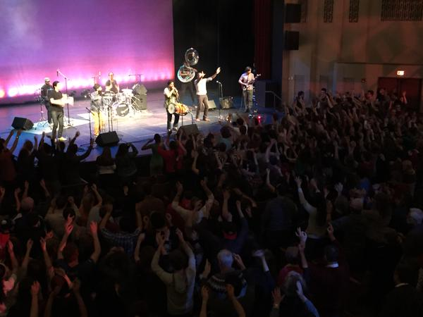 Red Baraat performs at Juniata College
