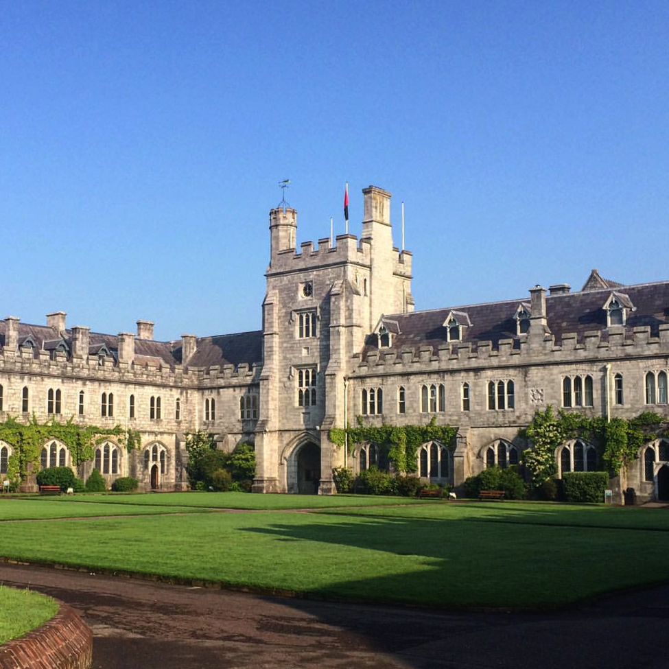 Here is UCC's most photographed building – affectionately deemed Hogwarts. I studied Old Irish (c. 600-900 AD) in the left portion.