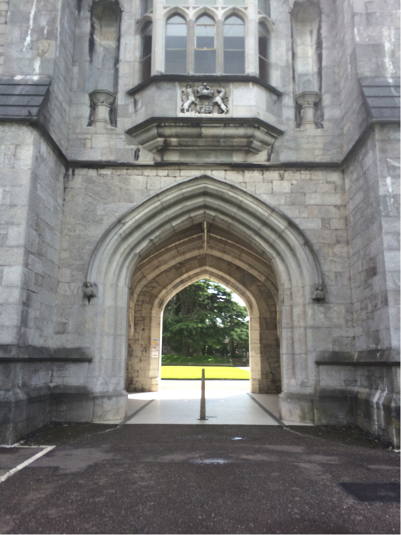UCC has an arch, too! No one storms their arch, though.