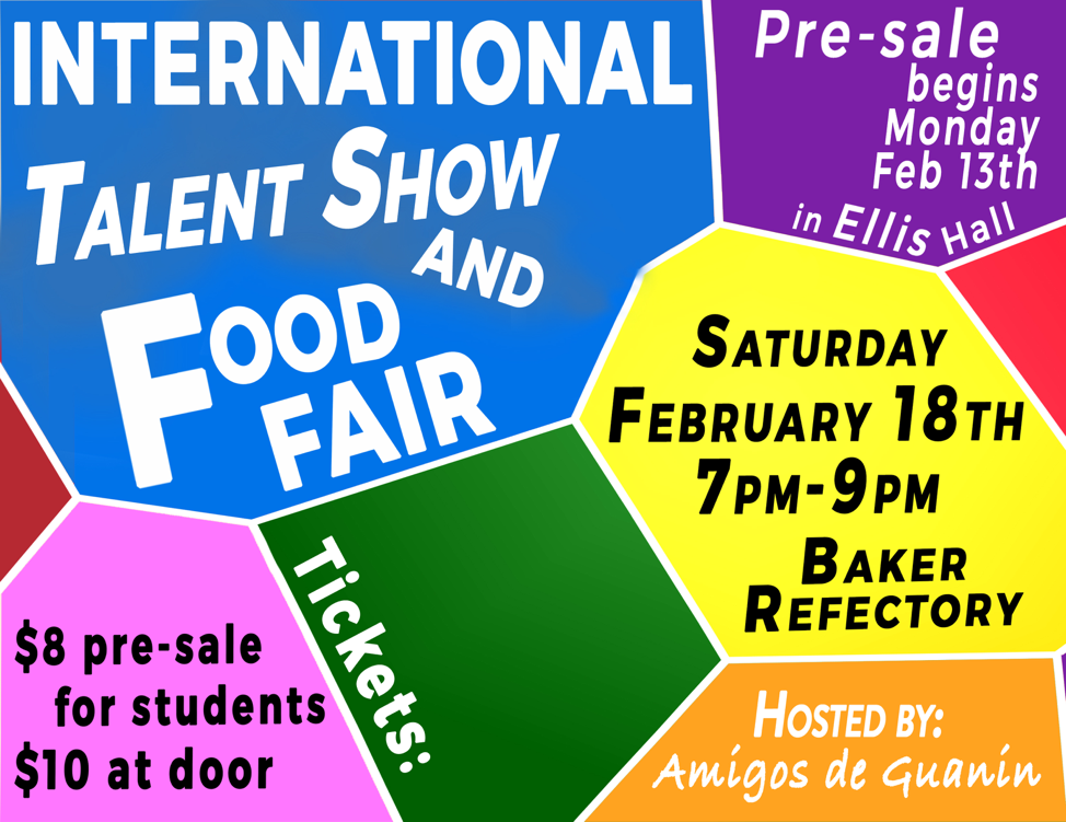 International Food Fair and Talent Show