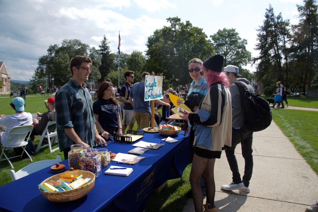 Juniata's annual Lobsterfest is the best way to connect with the various clubs and organizations on campus. You might even be able to sponsor your very own club some day!